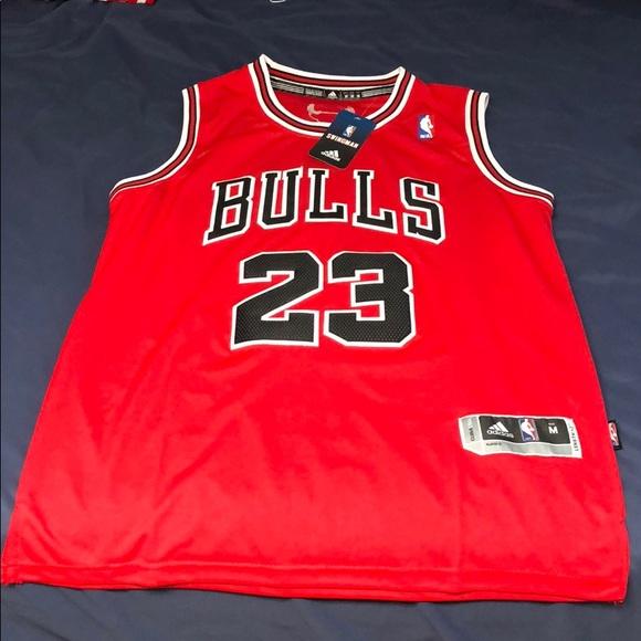 Michael Jordan Adidas Bulls Jersey